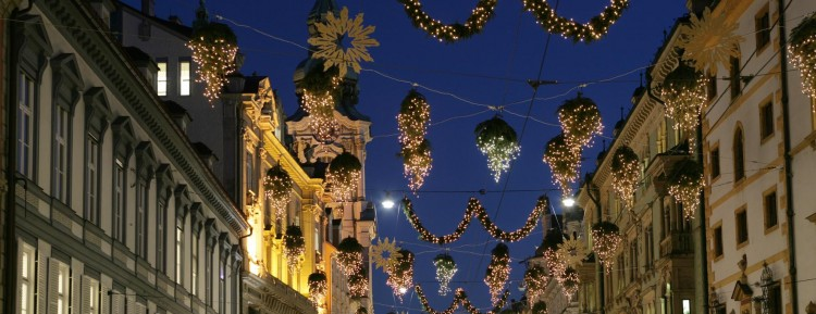 Herrengasse Kerst in Graz©                     Graz Tourismus