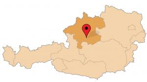 ligging Kasberg in Oostenrijk