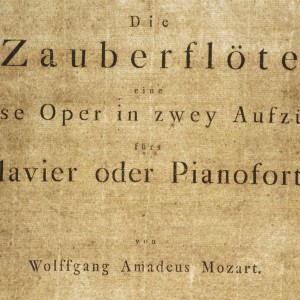 "Print of ""The Magic Flute"" by Mozart Austrian National Library © Österreich Werbung/Wiesenhofer"