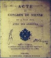 Frontispiece of the Acts of the Congress of Vienna (1815) © By JoJan (Own work) [Public domain or CC BY 3.0 (http://creativecommons.org/licenses/by/3.0)], via Wikimedia Commons