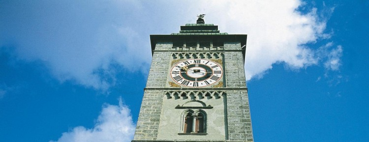 Enns tower with double-headed eagle©                     Österreich Werbung/Trumler